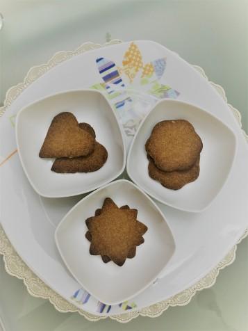 Crispy coffee cookies